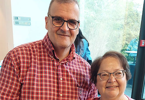 Faris Abu-Naaj & Mihaela Savu, Leitung der Adipositas ShG München City, Dicke Freunde