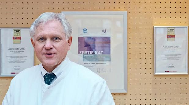 Dr. Günther Meyer, Ärztlicher Leiter der AMC-WolfartKlinik