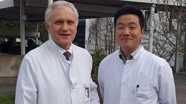 PD Dr. med. Günther Meyer und Dr. med. Min-Seop Son