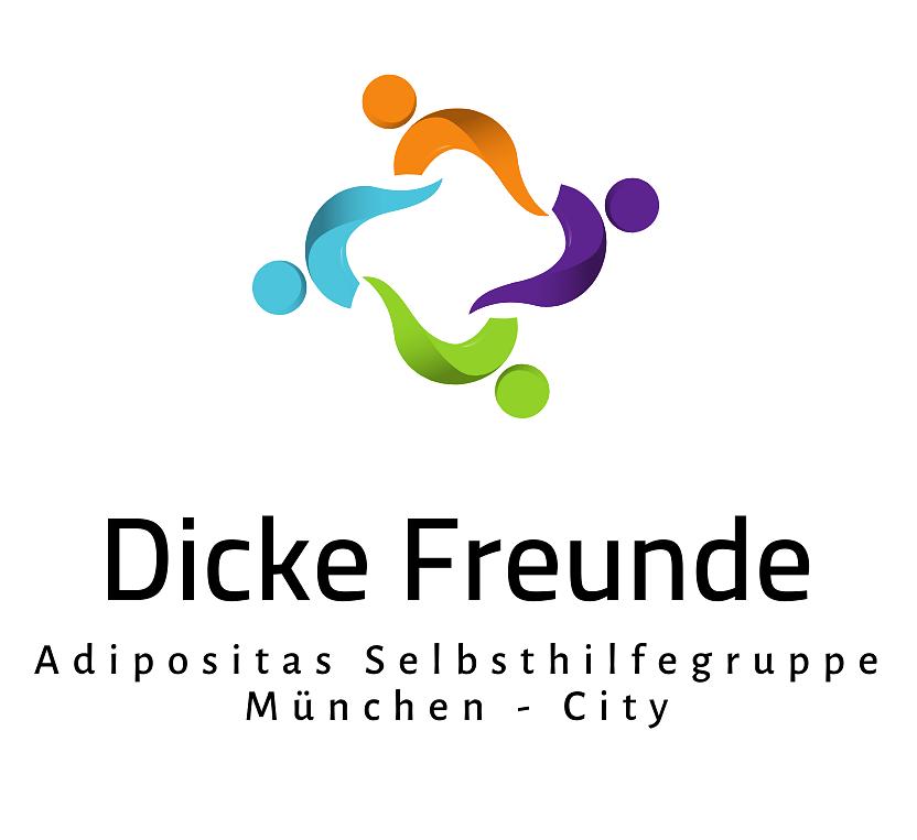 Logo Adipositas SHG München Dicke Freunde