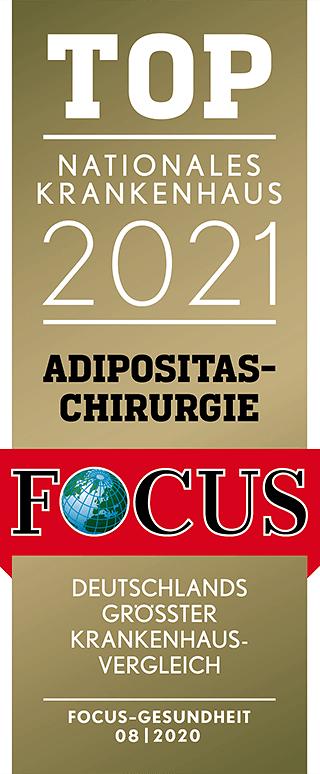 FOCUS-Siegel: TOP-Krankenhaus